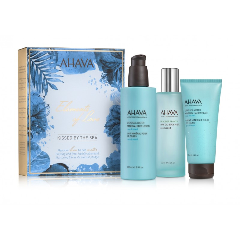 Trio Sea-Kissed Ahava Coffret Noël