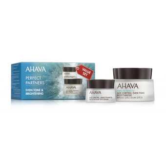 "Duo Time to Smooth ""Even tone & Brightening"" AHAVA"
