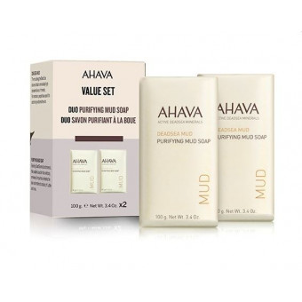 Kit Duo Savons purifiants à la boue AHAVA