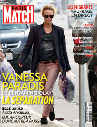 Couverture Presse Ahava Paris Match Juin 2015